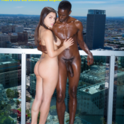 Angel Smalls Takes Two Black Cocks At Once - image 13526-featured-175x175 on http://blackcockcult.com
